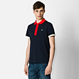 Lacoste Stretch two-tone polo