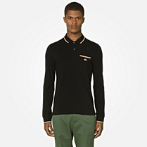 Lacoste Live Ultraslim fit long sleeved polo Men