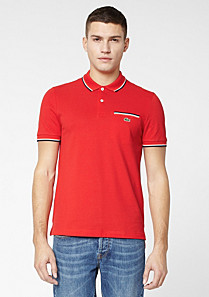 Lacoste Live Ultraslim fit polo with pocket Men