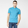 Lacoste Live Ultraslim fit polo with contrasting crocodile