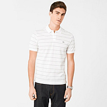 Striped Regular fit Lacoste polo Men