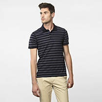 Slim fit striped Lacoste polo Men