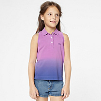 Lacoste Graduated effect sleeveless polo gender.gir