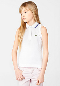Ärmelloses Lacoste Sport Tennis Polo gender.gir