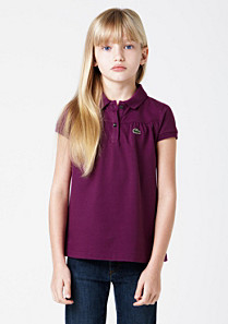 Lacoste Classic fit polo with pleats. gender.gir