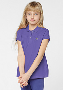 Lacoste Polo Classic fit gefältelt gender.gir