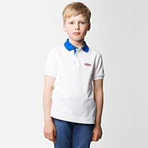 Flags Lacoste kid polo Boy
