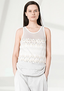 Lacoste Fashion Show patterned top Women