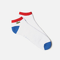 Lacoste Multi-colour short Sport socks Men