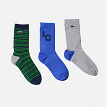 Lacoste Set of patterned socks Children