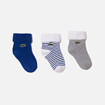 Lacoste Set of 3 pairs of socks Children