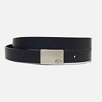 Lacoste Mat cowhide leather belt gift box Women