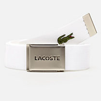 Lacoste L12.12 Concept woven belt with gift box Men