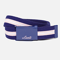 Lacoste Reversible elasticated belt Children