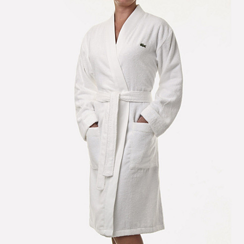 Crocodile Towelling Robe