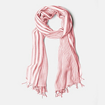 Lacoste Striped scarf Women
