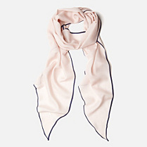 Lacoste Scarf in wool and silk Women
