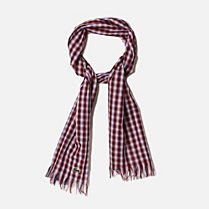 Lacoste Check scarf Children