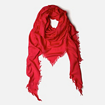 Lacoste Lightweight patterned scarf Women