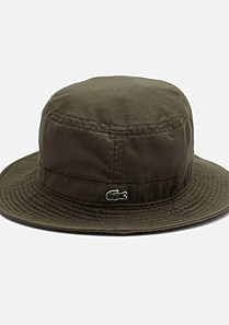 Lacoste Plain bucket hat Children