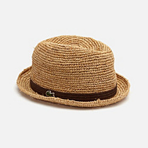 Lacoste Braided straw hat Children
