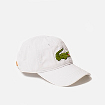 Lacoste Cap with green maxi crocodile Men