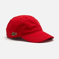 Lacoste Plain baseball cap Children