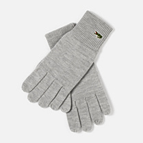 Lacoste Wool gloves Men