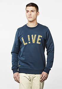 Printed Lacoste Live Ultra slim fit sweatshirt Men