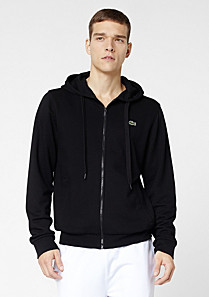 Lacoste Sport plain zipped sweatshirt Men