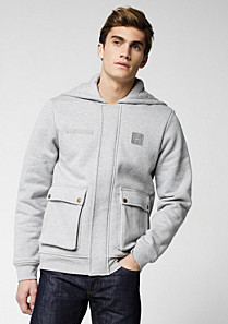 Lacoste Zip-up hooded sweatshirt Men