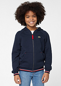 Lacoste Hooded zipped sweatshirt Boy