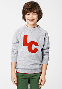 Lacoste Sweatshirt with elbow patches Boy
