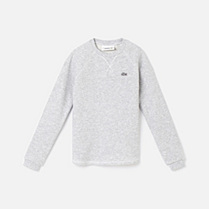 Lacoste Round neck plain sweatshirt gender.gir