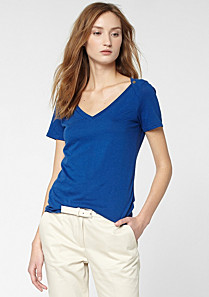 Lacoste V-neck tee shirt Women