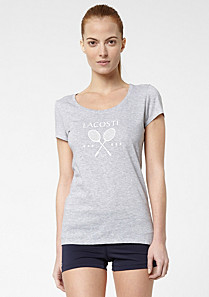 Lacoste Printed Tennis tee-shirt Women