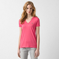 Lacoste V-neck Tee-shirt Women