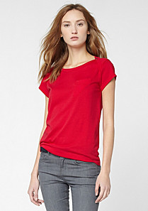 Lacoste Boat neck tee shirt Women