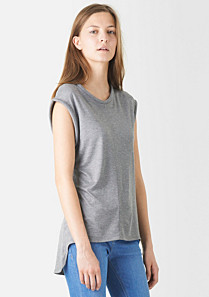 Lacoste Sleeveless tee-shirt with offset tail Women