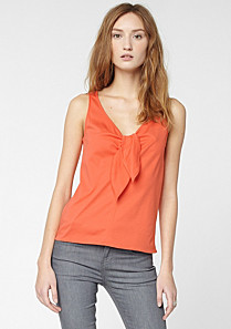 Lacoste Light top with bow Women