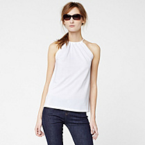 Lacoste Fluid top with tie straps Women