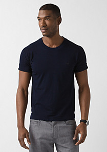 Lacoste Tee-shirt with turn-up sleeves Men