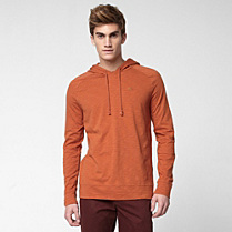 Lacoste Long sleeved hooded tee shirt Men