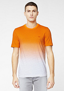 Striped Lacoste Live Ultra slim fit tee-shirt Men