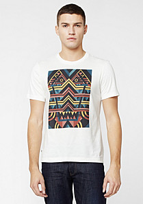 Printed Lacoste Live Ultraslim fit tee-shirt Men