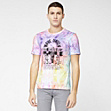 Printed Lacoste Live Ultraslim fit tee-shirt