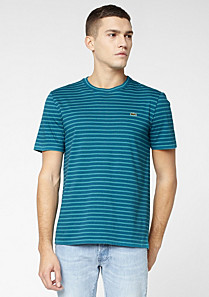 Striped Lacoste Live Ultraslim fit tee-shirt Men