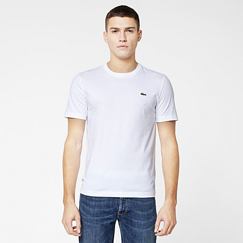 Plain Lacoste Live Ultraslim fit tee-shirt