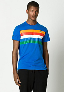 Team Lacoste multicolour tee-shirt Men
