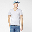 Lacoste Live Ultra slim fit plain V-neck tee-shirt